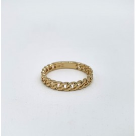 Bague gold chain