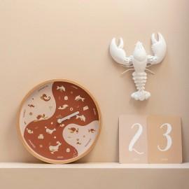 """Horloge """"My little week"""""""