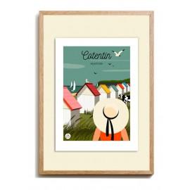 """Affiche """"Cotentin"""" by Les..."""