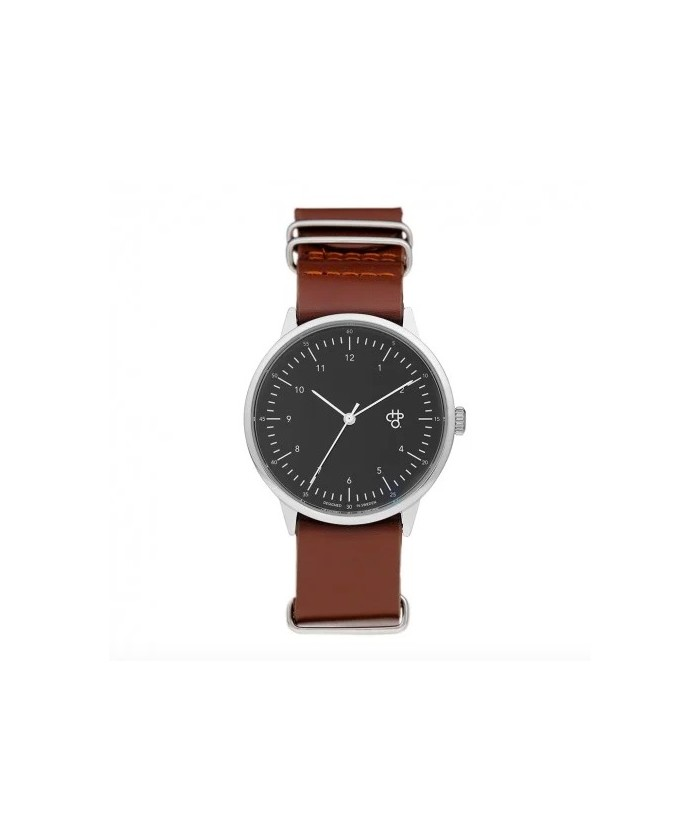 Montre harold silver brown