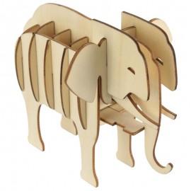 Puzzle 3D Eléphant
