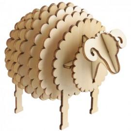 Puzzle 3D mouton