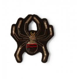 Broche araignée noir Macon...