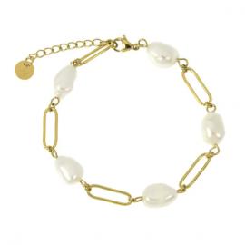 Bracelet acier Les Cléias