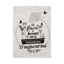 """Carte à planter """" Les..."""