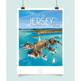 Affiche Jersey