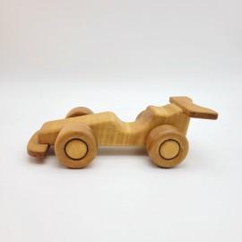 Jouet voiture en bois ancienne