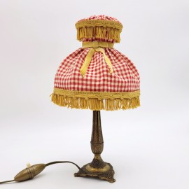Lampe vintage vichy