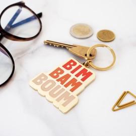 """Porte-clés """"Bim Bam Boum"""""""