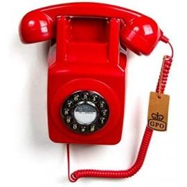 Téléphone mural vintage -...