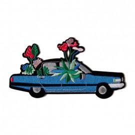 Ecusson Cadillac en fleur...
