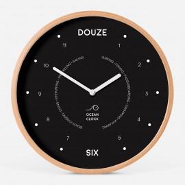 Horloge des heures - Black