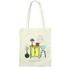 """Tote Bag """"Vintage Lovers"""""""