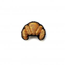Broche croissant Macon et...
