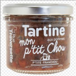 """Tartine végétale """"mon petit..."""