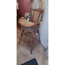 Chaise Bébé chiné