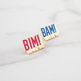 """Duo de pin's """"Bim Bam"""""""