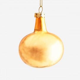 Boule décorative doré